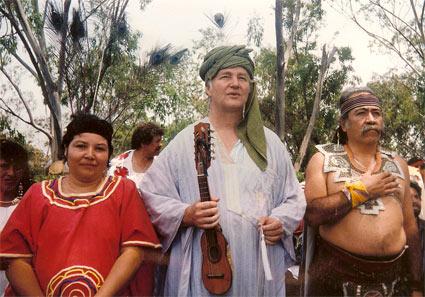 Sheikh Nur in Mexico